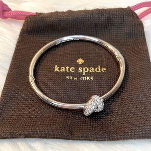 Kate Spade Sailor's Knot Crystal Pavé Bangle